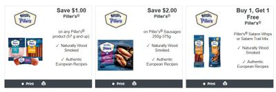 Piller's Canada Coupons: New Buy One Get One Free & More!