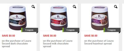 GoCoupons Canada: Save On Laura Secord Chocolate Spread