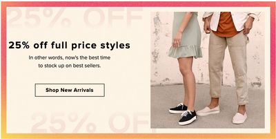 TOMS Canada Sale: Save 25% off Full-Price Styles Using Coupon Code