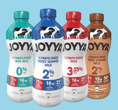 Canadian Coupons: Save $1 On JOYYA Ultrafiltered Milk