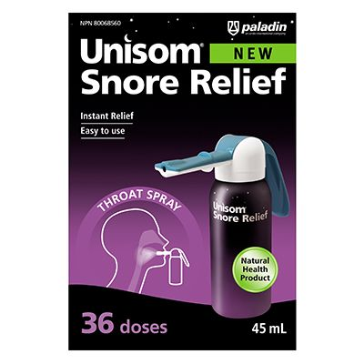 Save $5.00 on the purchase of one (1) Unisom Snore Relief product