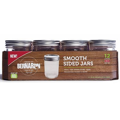Save $2.00 on any ONE (1) case of BernardinSmooth Jars (12-Pack)