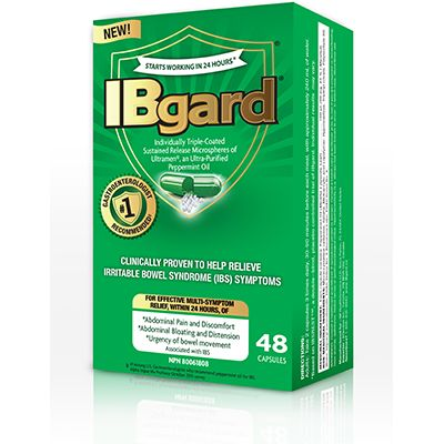 Save $3.00 on IBgard12 or 48 capsules. CLINICALLY PROVEN TO HELP RELIEVE IRRITABLE BOWEL SYNDROME (IBS) SYMPTOMS