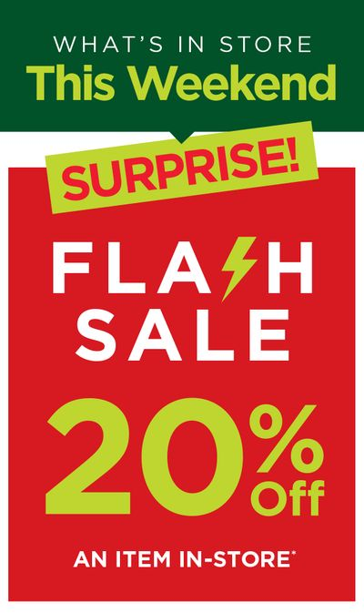 Kitchen Stuff Plus Canada Flash Sale Coupons: Save 20% off a Single Item