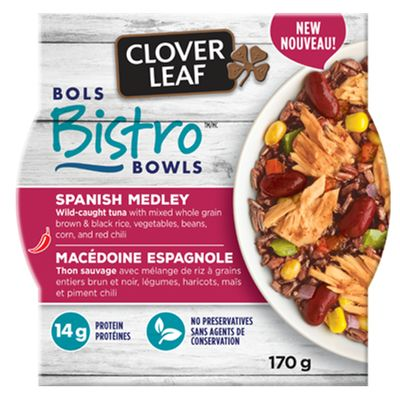 Save $1.00 on any ONE of CLOVER LEAF BISTRO BOWLS™ 170g