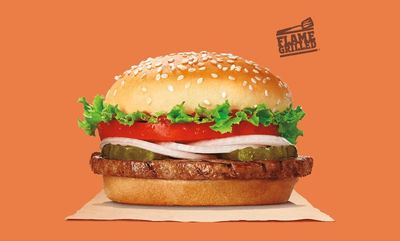 The Veggie Burger! at Burger King