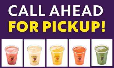Call Ahead For Pick-Up at Booster Juice