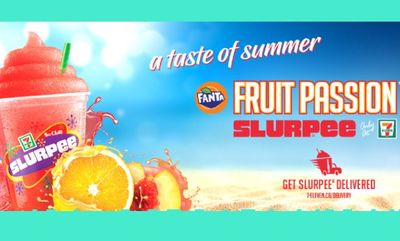 New Fruit Passion Slurpee at 7-Eleven