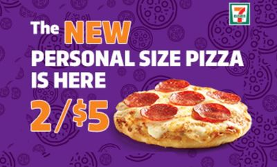 Personal Size Pizza Deal at 7-Eleven