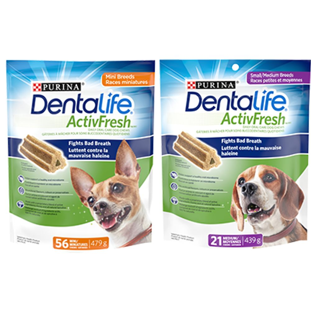 Save $1.50 when you buy one (1) DentaLife product
