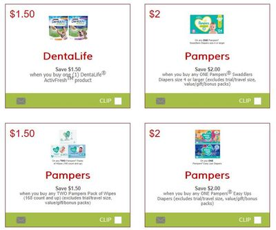 Canadian Coupons: Save $1.50 On Purina Dentalife + New Pampers Coupons