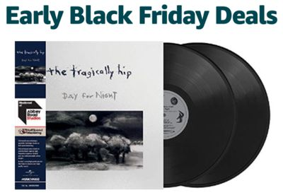 Amazon Canada Early Black Friday Deals Of The Day: Save up to 25% Off Tragically Hip Titles