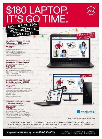 Dell.ca Epic Black Friday Deals Flyer November 18 to December 1