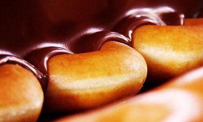 CHOCOLATE GLAZED at Krispy Kreme