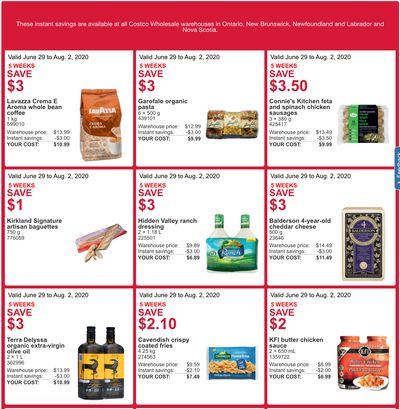 Costco Canada More Savings Weekly Coupons/Flyers For Canada until August 2