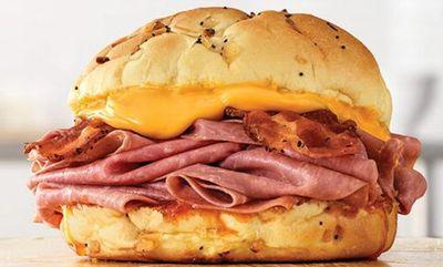 Bacon Beef 'N Cheddar Sandwich at Arby's