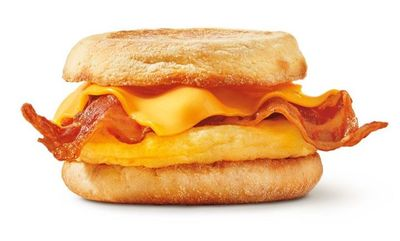 Breakfast Sandwiches at Tim Hortons