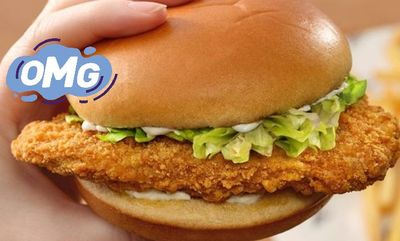 Plant-Based KFC Chicken Sandwich