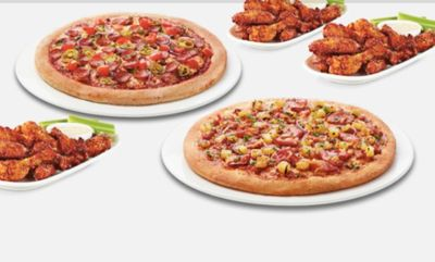 GAME DAY MEALS at Boston Pizza