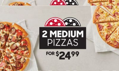 Two Medium Pizzas Deal at Pizza Hut