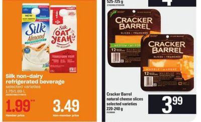 Zehrs Ontario: Silk Oat Yeah Beverage 99 Cents After Coupon