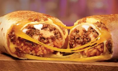 Double Quesorito at Taco Bell Canada