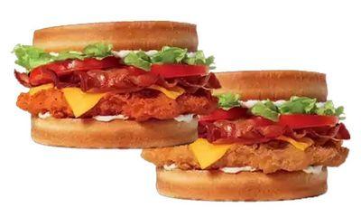 Sourdough Spicy Chicken Club Sandwich at Burger King