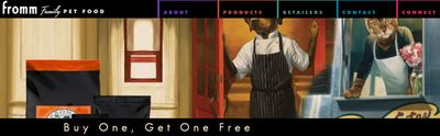 Canadian Coupons: Buy One Get One Free Fromm Family Pet Food *Printable Coupon*