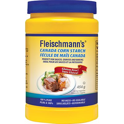 Save $ 1 on the purchase of one (1) 454 g container of Fleischmann'sCorn Starch