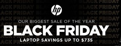 HP Canada Black Friday 2019 Sale: Save up to $735 on Laptop, 50% off Accessories + Extra $10 – $100 with Coupon Code