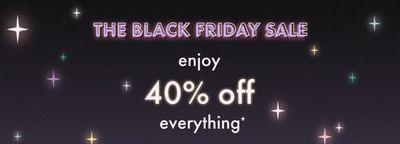 Kate Spade Canada Black Friday 2019 Sale: Save 40% off Everything with Coupon Code+ FREE Shipping to Canada + Gifts $75 & under