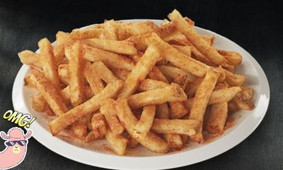 NEW Chalet seasoned fresh-cut fries! at Swiss Chalet