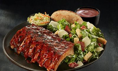 1/2 Rack Back Sweet Heat Ribs at Swiss Chalet