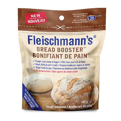 Save $2.00 on the purchase of a 100 g pouch of Fleischmann's dough enhancer