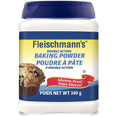 Save 75¢ on the purchase of one (1) 340 g container of Fleischmann's Baking Powder