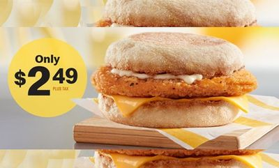 Chicken McMuffin® at McDonald's Canada