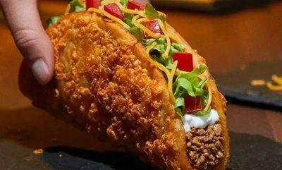 Toasted Cheesy Chalupa at Taco Bell Canada