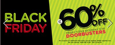 Michaels Canada Black Friday 2019 Sale: Save up to 60% off Doorbusters + 55% off Coupons:
