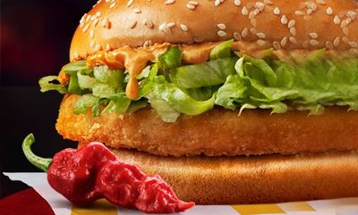 Ghost Pepper McChicken® at McDonald's Canada